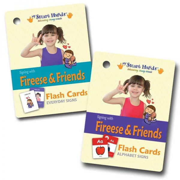 baby signing flash cards combo